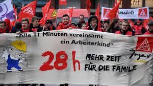 Una nueva tendencia en el mundo del trabajo? Los obreros alemanes acuerdan  que su semana laboral se reduzca a sólo 28 horas por semana - BBC News Mundo