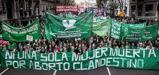 Argentina: Marcha de #NiUnaMenos a favor del aborto legal | Ameco Press