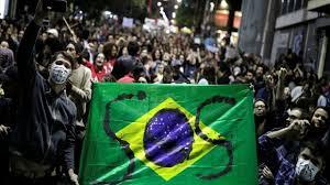Protestas en Brasil en contra de Bolsonaro en crisis del COVID-19